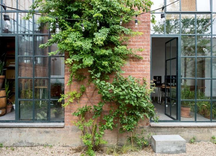 fabr studio in brooklyn garden steel factory doors