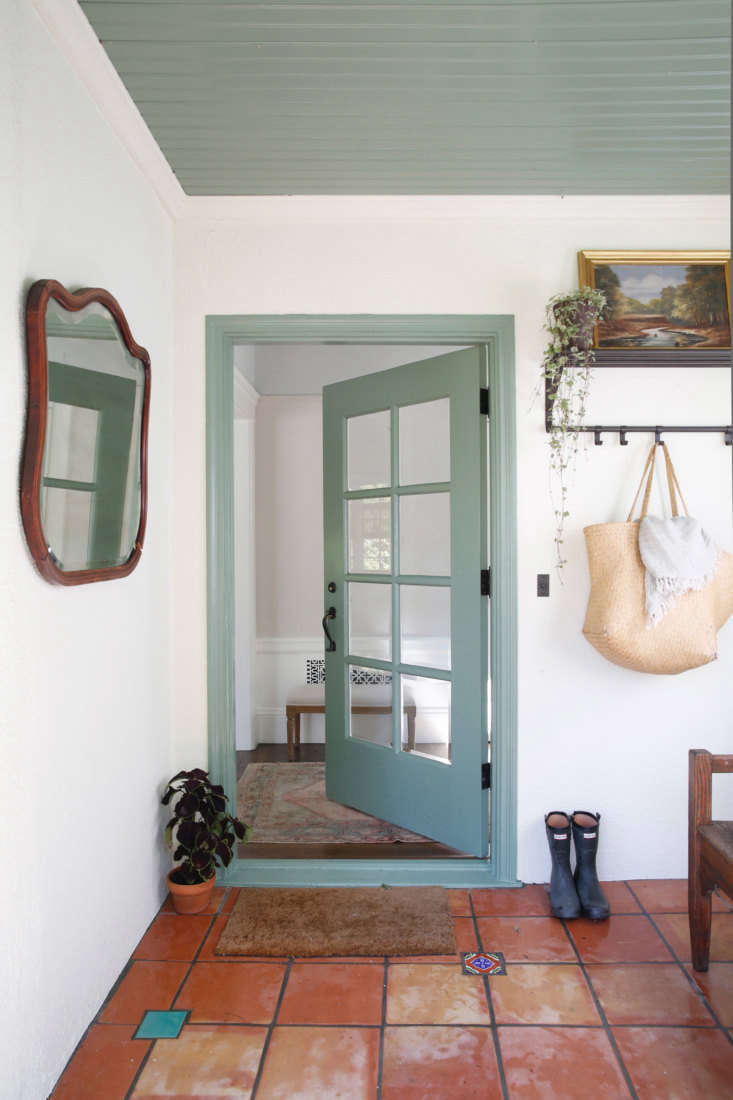 After a paint job, stucco walls look bright and inviting.