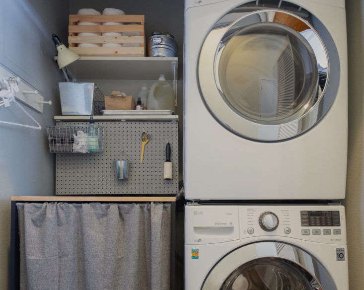 With help (including paint) from sponsor Home Depot, Meredith transforms her Bay Area laundry room into an inviting space—with clever hidden storage.