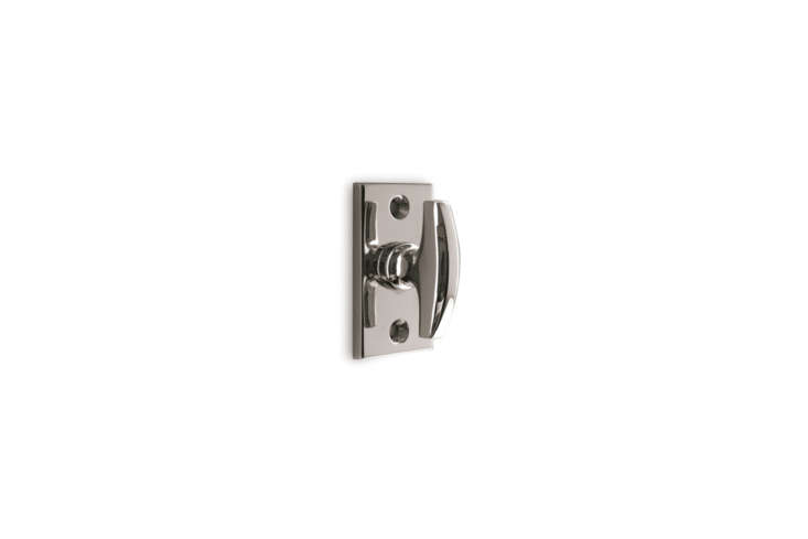 The Nanz N 4050 Modern Thumbturn coordinates with mortise locksets and is available in the full range of Nanz finishes. Contact Nanz for pricing information.