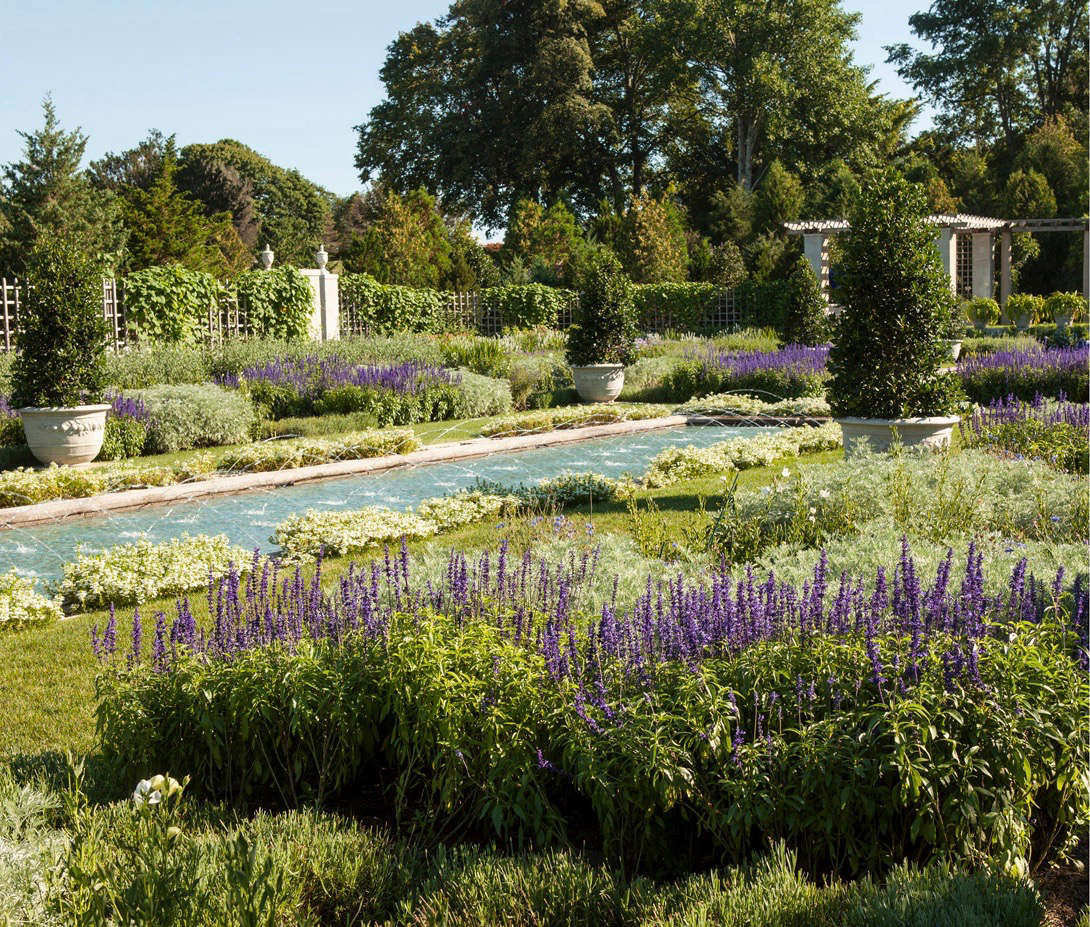 When the landscape architects took on the project there were &#8