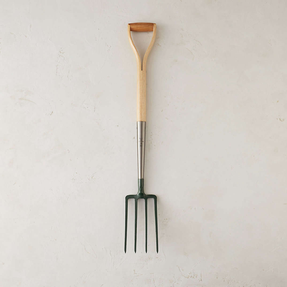 Also shown in the top photo of this post, a Clarington Forge Border Fork is handmade in England and has a compact 37-inch ash handle to make it easy to maneuver in tight spaces such as compost bins. It is $78 from Terrain.