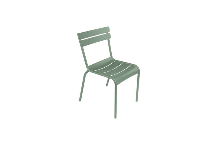 The style and shade of green in the Jardin du Luxembourg is Fermob&#8\2\17;s Luxembourg Chair in Cactus. A set of 4 is \$\1,5\24 at Lekker. You can find the chairs sold individually for \$350 each at Connox.