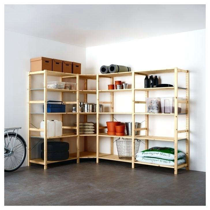 From Ikea, a four-section Hejne Shelving unit is \$\15\2. See more of our top picks in \10 Easy Pieces: Budget Garage Shelving.