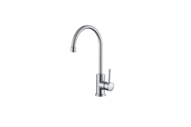 The Kraus Solid Stainless Steel Series Kitchen Faucet (KPF-
