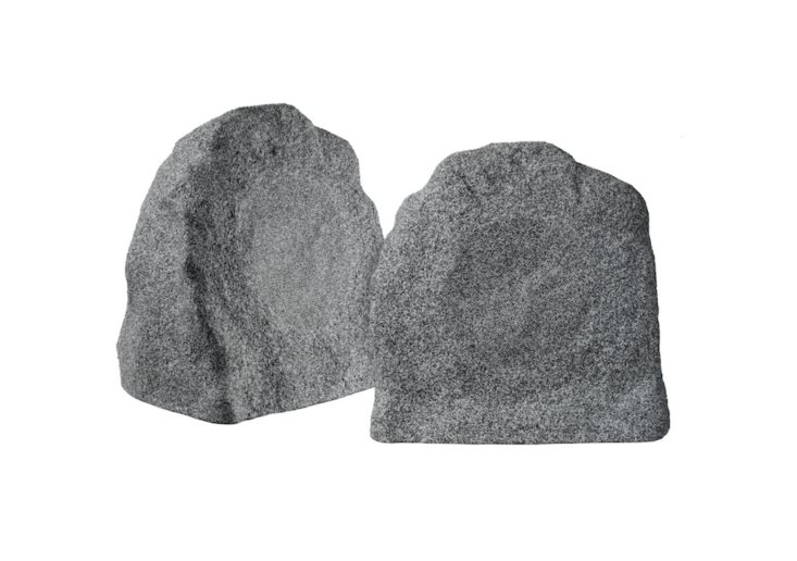 A 6.5-inchNuvo AccentPlus\1 Outdoor Rock Speaker with a fixed tweeter is€470 at Sirkom.