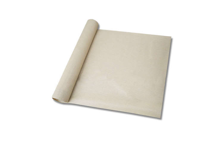 The Windscreen4less Sunblock Shade Cloth comes in an 8-by-\1-foot roll and is available in beige (shown), brown, canary yellow, dark green, light gray, and turquoise green; \$\16.99 on Amazon.