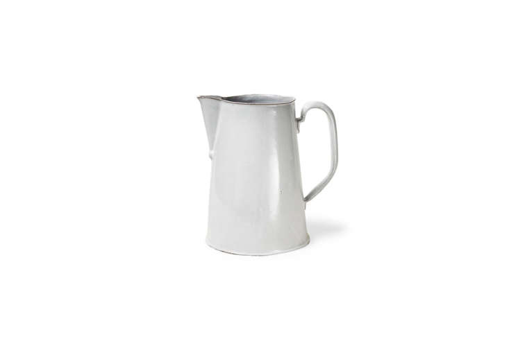 The Astier de Villatte Large Rose Pitcher is made from the line&#8\2\17;s black terra cotta clay and milk-white porcelain glaze. As it&#8\2\17;s Astier de Villatte, it&#8\2\17;s on the higher end of the pricing spectrum for \$\298 at ABC Carpet & Home.