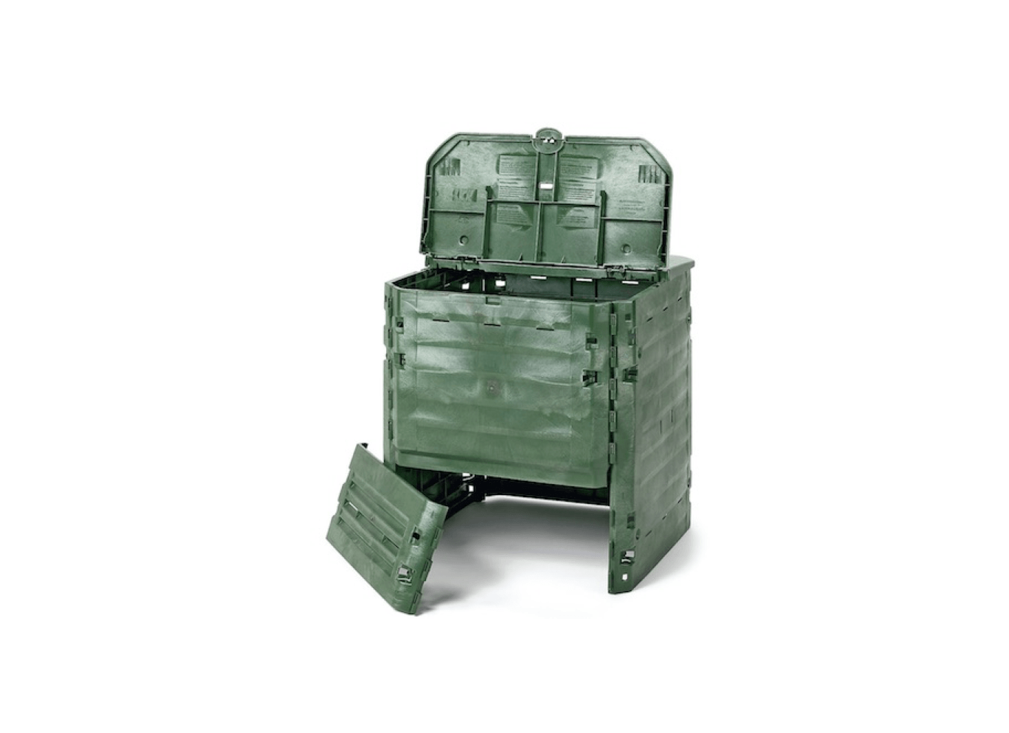 An Insulating Plastic Thermo-Composter is €87 from Manufactum.