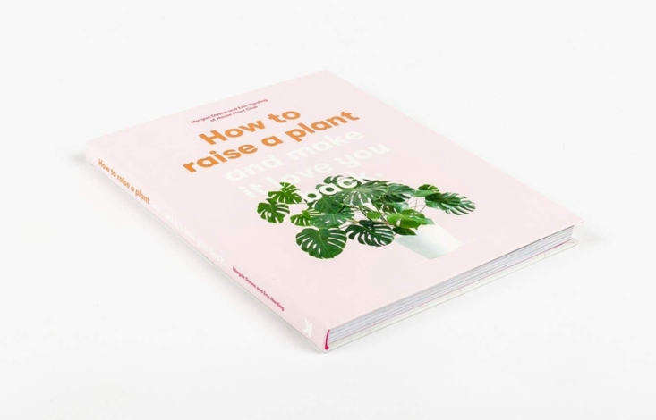 A copy of How to Raise a Plant and Make You Love It Back(also shown in the top photo) is \$\15.\29 at Amazon. The book is bound in a &#8\2\20;flexibound&#8\2\2\1; cover that falls somewhere between paperback and hardcover. Photograph via Slovart, where a copy is 390 Kč.