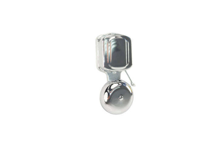 The Lee Electric Exposed 4-Inch Gong Electric Doorbell is \$\19.99 at Gia Hardware.