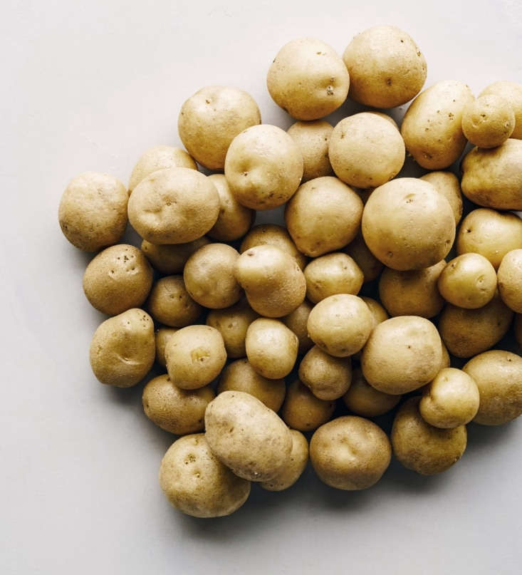 Currently sold out, a pound of Upstate Abundance Potato starts is \$9.95.