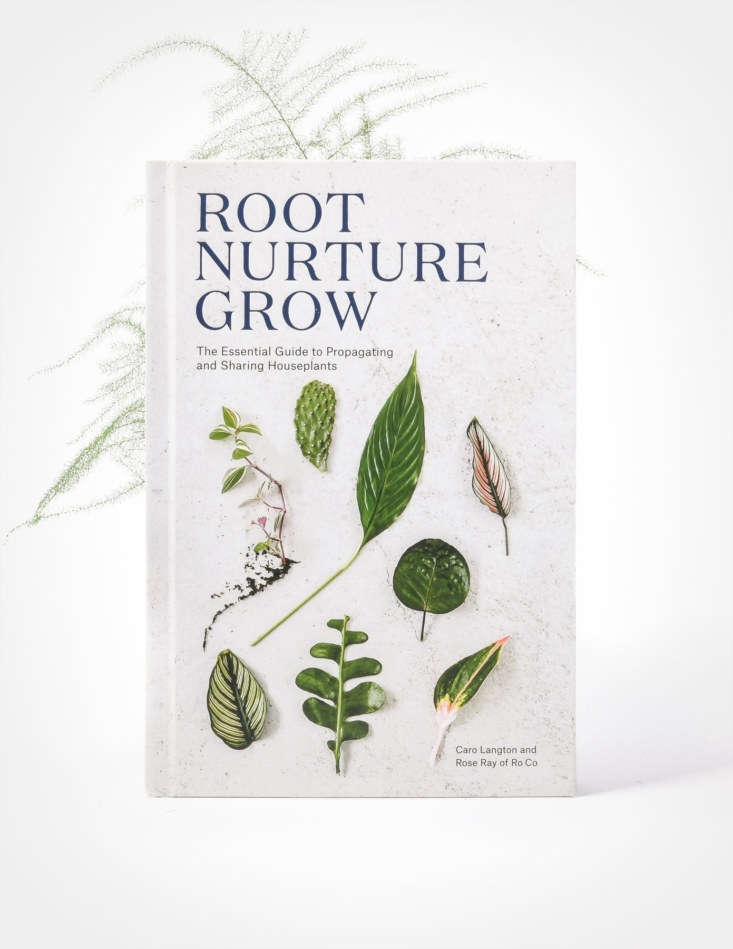 A \206-page hardcover copy ofRoot Nurture Grow is \$\25 at Pistils Nursery.