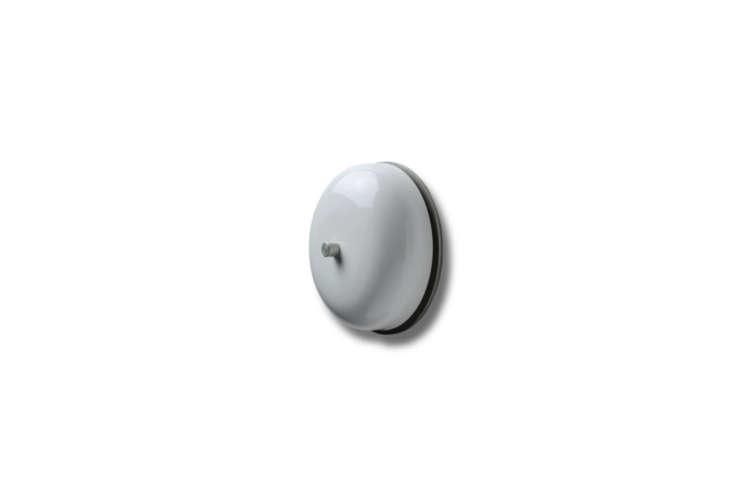 Wind up Mechanical Doorbell in Matt Black.