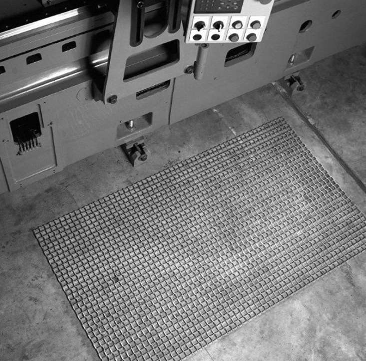 You can source a more heavy-duty industrial Steel Mat Shoe Scraper made of flexible mesh cold rolled steel. It&#8\2\17;s available in custom sizes by contacting Durable Corporation.