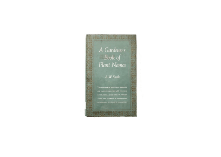 Published in 63, a vintage hardcover copy ofA Gardener&#8