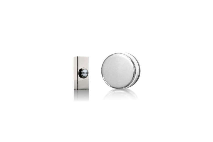 The Wind-Up Mechanical Doorbell in Chrome, model 849CP, is £47.45 at eBay.co.uk.