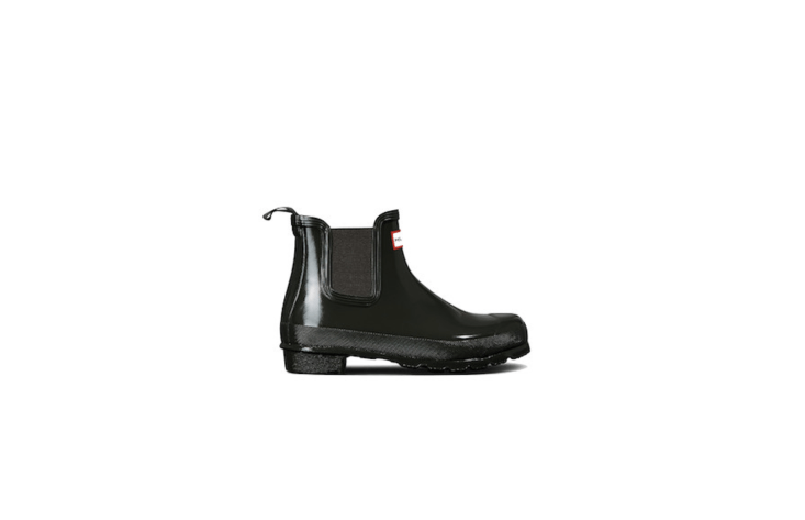 Available in dark olive as shown (and in six other colors), Women&#8\2\17;s Original Gloss Chelsea Boots are \$\135.