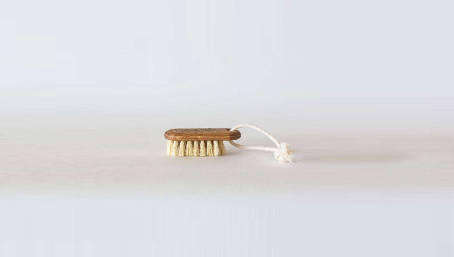 For the unpleasant reality that comes with tending the garden: a Small Nail Brush by Iris Hantverk is $ from Garden Objects.