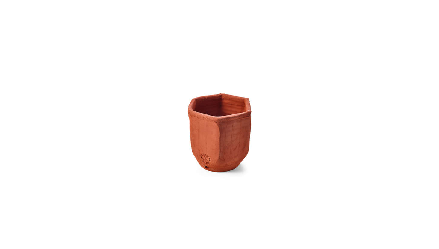 Miniature Terracotta Herb Pots are made in France and designed for small spaces: &#8