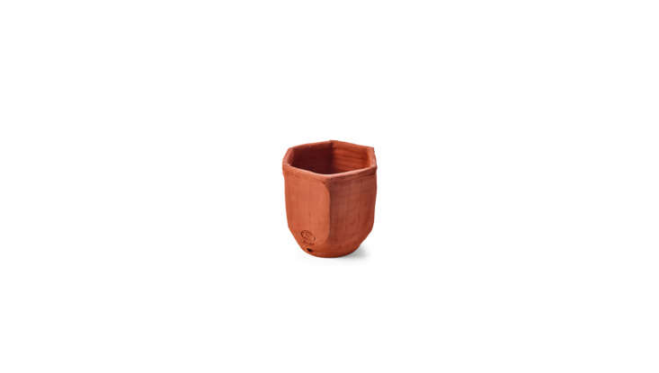 Miniature Terracotta Herb Potsare made in France and designed for small spaces: &#8\2\20;The hexagonal form of the pots allows to put three or more together in a hive-like pattern: they take up little space, and another one can always be added,&#8\2\2\1; notes the retailer. Their small size also makes them perfect to slip into stockings. Each is £\14.50 from Manufactum.
