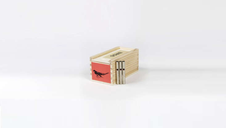 These tinyWooden Bird Callsare handmade in a small workshop in France and come in an array of curious shapes and calls. This one mimics the sound of a swift; it&#8\2\17;s \$\25 from Canoe.