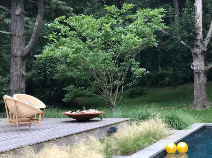 Fire bowls are safe to site on a wooden deck.