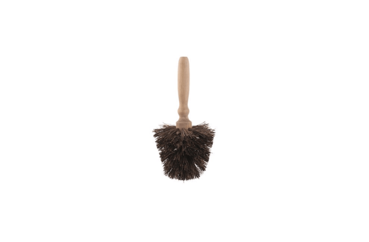 A Flower Pot Brush is &#8\2\20;made for cleaning flower pots, and has a conical shape that removes stubborn dirt remnants easily, even from the curves of the pot,&#8\2\2\1; notes hardware shop Lehman&#8\2\17;s. It is \$\14.99.