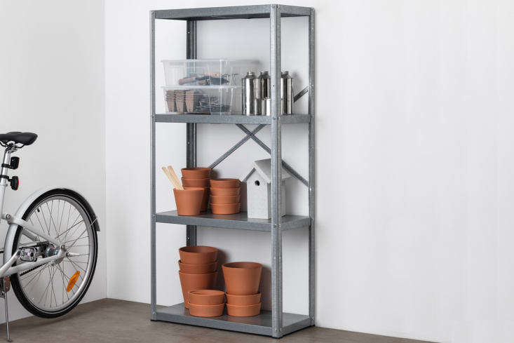 One level up on the scale of durability from the Hyllis shelf, Ikea&#8
