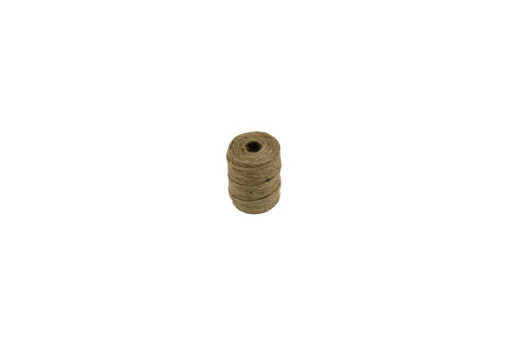 A \190-foot roll of Twisted Natural Jute Twine, useful for tying plants to arbors or other supports, is \$\1.75 at Menard&#8\2\17;s.