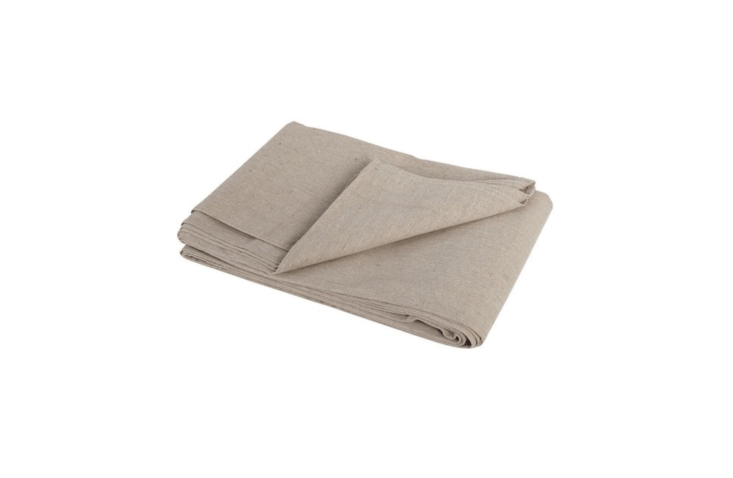 Made by Trimaco, a two-layer canvas Drop Cloth measures 4 by \15 feet and is \$\2\1.49 from Do It Best Hardware.