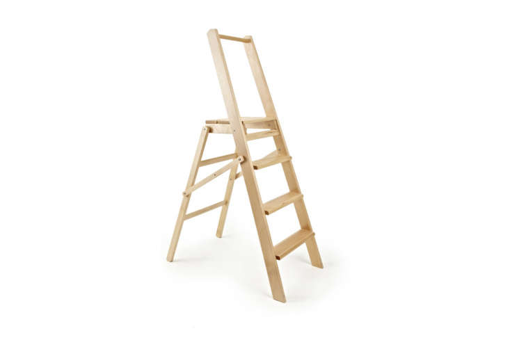 At last, the Summerhill & Bishop Wood Four Step Ladder barely makes the cut (it&#8\2\17;s only 4 feet high) but worth a mention for its good looks. It&#8\2\17;s £95 at Summerhill & Bishop in the UK.