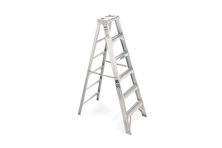 above: The straightforward 6-Foot Aluminum Step Ladder from Werner for \$\196.99 on Amazon. Also available are 8-, \10-, and \1\2-foot sizes.