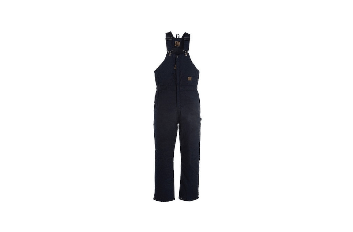 """From Berne, a pair of Deluxe Insulated Bib Overall-Zip To Kneecoveralls has an insulated """"High Back"""" design for added warmth; $56.95 from All Seasons Uniform."""