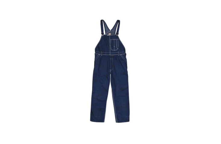 Made in Japan, a pair of Chimala Old Nep Denim Overalls is marked down to \$379 (from \$54\2) at Unionmade.