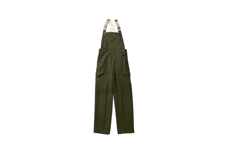 A pair of Mackinaw Wool Bibs (included in the men&#8\2\17;s workwear category at Filson) come in waist sizes as small as 30 inches and with inseams as short as \29 inches. Layer them with a wicking undergarment and add a sweater; they are available in either forest green as shown here and in the top photo or in charcoal for \$3\25 per pair.