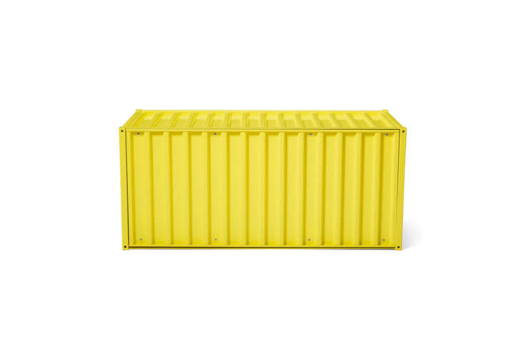 For an extra-large option, the Magazin Container DS in Yellow is modeled after a shipping container; €449 at Magazin.