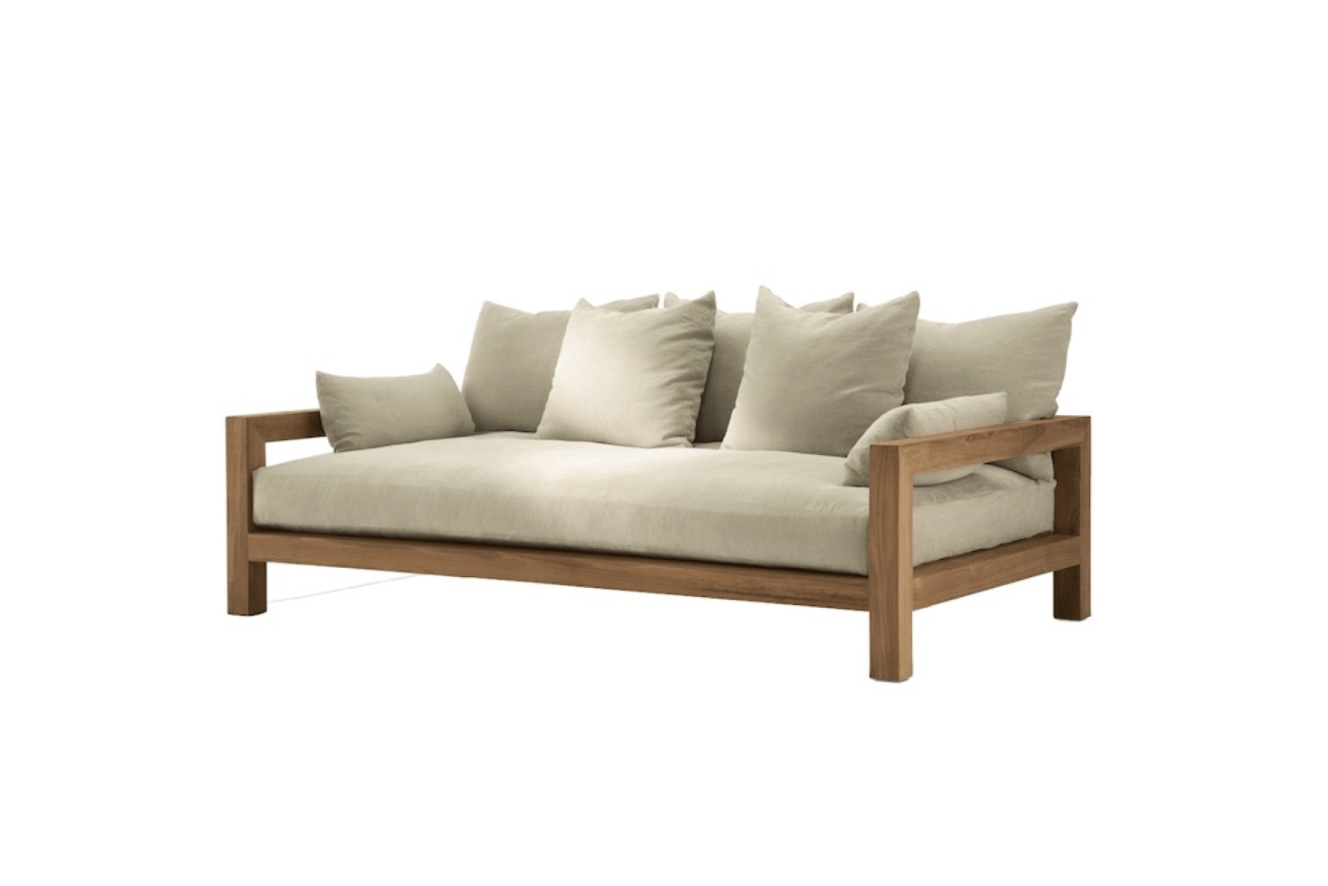 Patio Furniture: 12 Favorite Teak Sofas for Outdoor Living Spaces