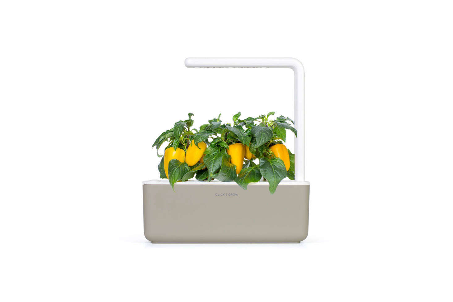 Click & Grow is a system that comes with pre-seeded cartridges that grow via &#8