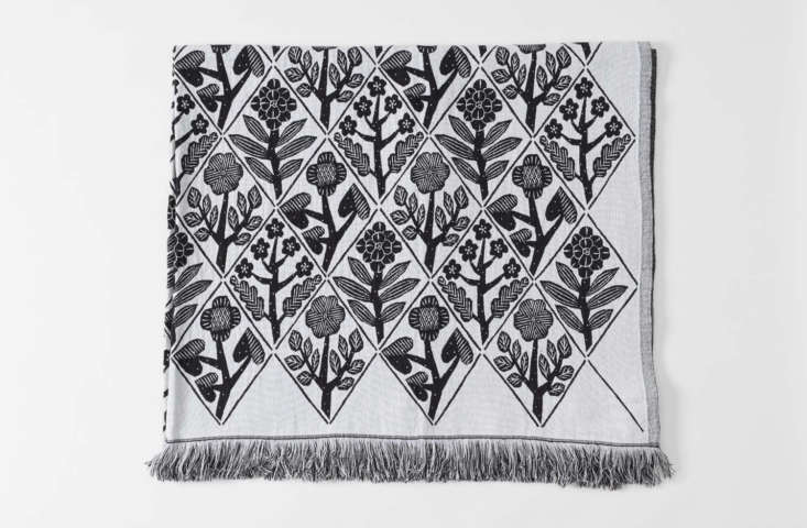 A fringedMakoto Kagoshima Tablecloth is \$\255 from March.