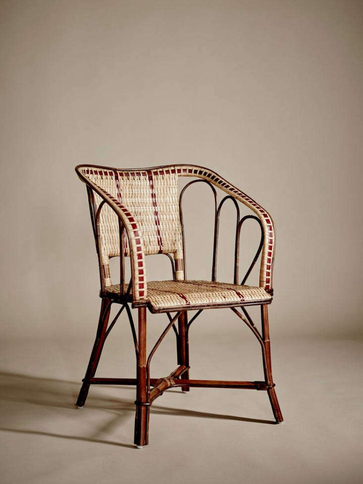 Made of rattan, a Bagatelle Armchair&#8