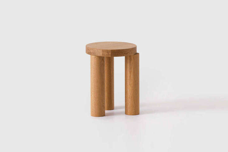 An actual stool for sitting (or for plants!) designed by Philippe Malouin for Resident, the Offset Stool is £370 at TwentyTwentyOne.