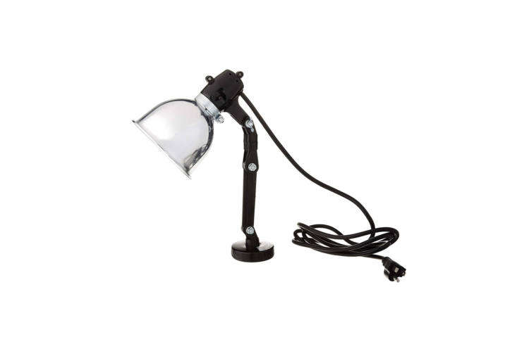 The Fulton Woodworking Tools \1\294 Magnetic Work Light is a genius of design with a magnetic base that can attach to metal machinery; \$\19.99 at Amazon.
