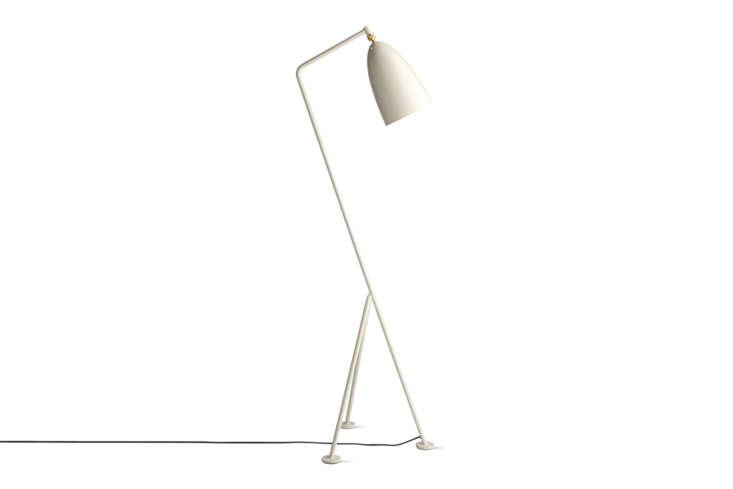 TheGrasshopper Floor Lampby Swedish architect Greta Grossman for Gubi comes in nine colors; \$\1,030 at Design Within Reach.