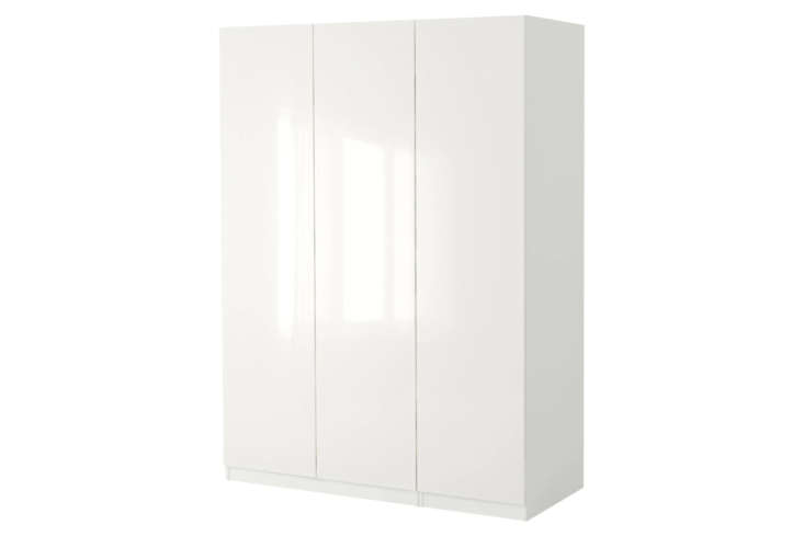 Ikea&#8\2\17;s Pax Wardrobe Storage System is a decent-looking, albeit unconventional solution for garage storage. The Pax system has numerous components, including corner units, to do a DIY combination for the garage; \$895 at Ikea.