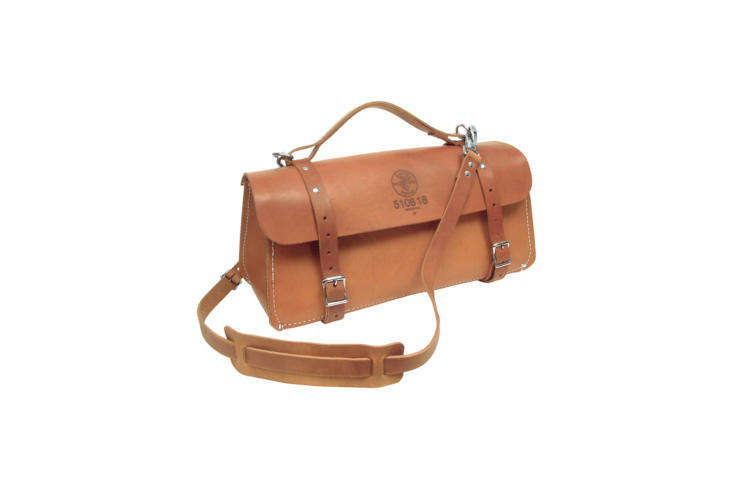The Klein Tools \18-Inch Deluxe Leather Bag is the bag to contain all your gardening gear from the time-honored workwear brand Klein. It&#8\2\17;s \$\239.70 on Amazon Prime.
