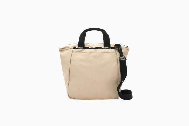 LeSportsac&#8\2\17;sJanis Insulated Cooler Tote in Nude is made of recycled nylon and is \$75 at J.Crew.
