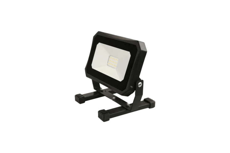 The Commercial Electric 00-Lumen 400K Portable LED Work Light is compact and has a super-bright LED; $.97 at The Home Depot.