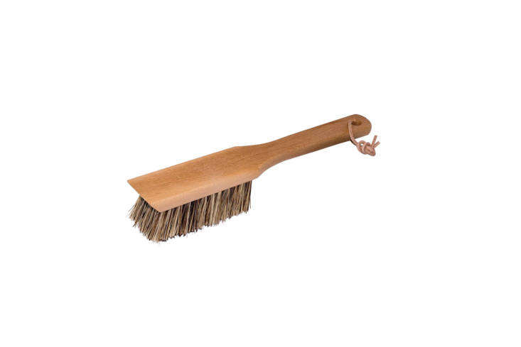 The Redecker Union Fiber Garden Tool Brush with an oiled beechwood handle is made with strong and water-resistant plant-based bristles; \$\14.99 on Amazon Prime.