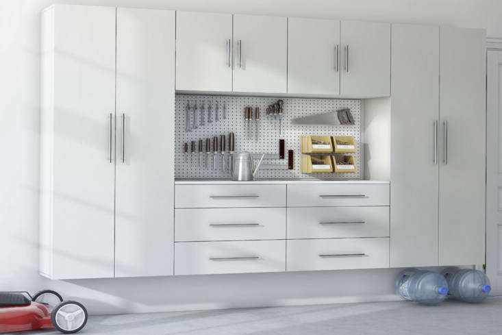 The Wayfair Basics Complete Storage System is one of many configurations of cabinets available through Wayfair. This one is \$\1,\2\17.6\2.